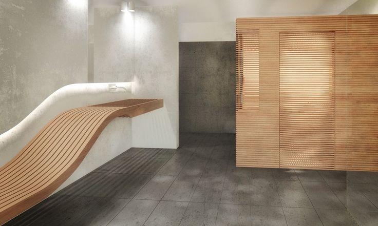 Sauna und Liege von scoopstudio