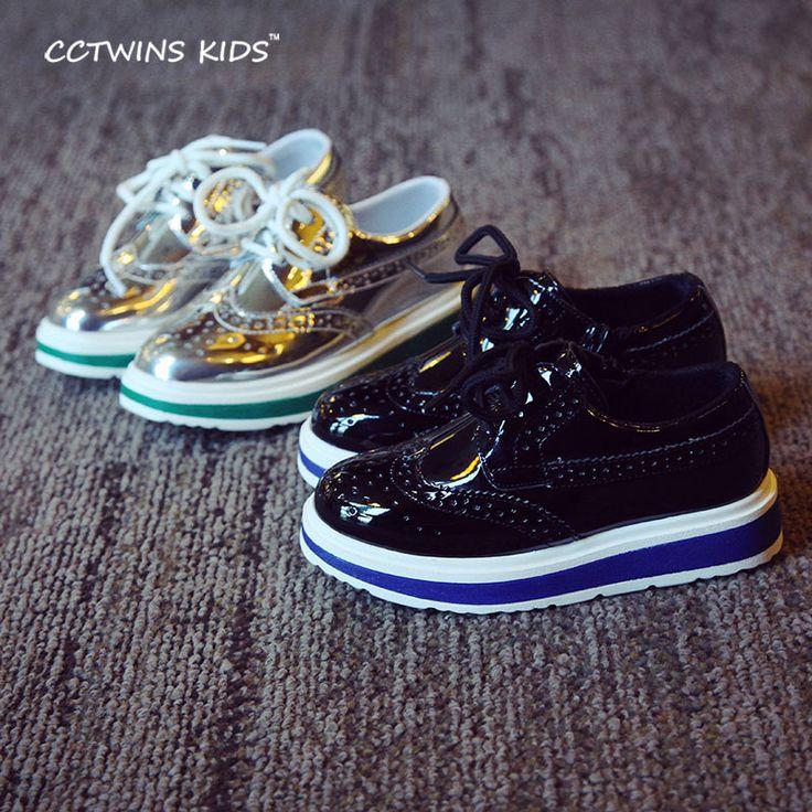 2016 новый осень дети pu кожаные кроссовки мальчиков платформы кроссовки для детей бренда обувь для девочек мода прогулки кроссовки