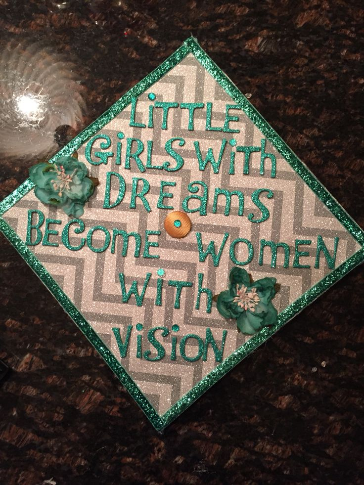 Graduation cap for high school/college