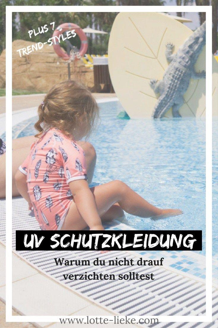 UV-Schutzkleidung anstatt gewöhnlicher Bademode für Kinder? Hier die Vor- und Nachteile, wichtige Infos rund um das Thema für euren nächsten Urlaub im Sommer. Außerdem Trend-Styles für den Strand