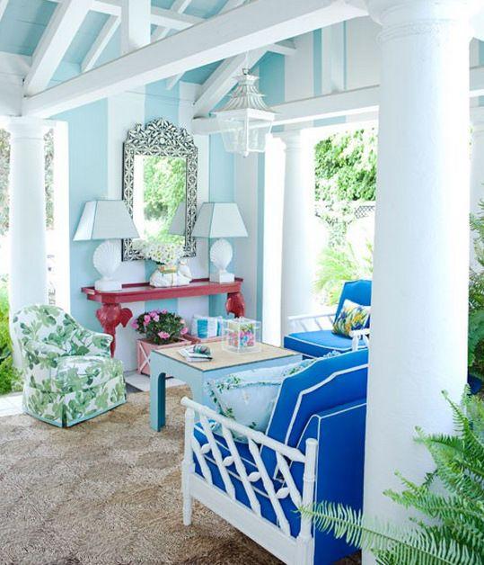 Brilliant Interior Paint Color Schemes: 72 Best Paint Color Schemes- Cornflower Blue From Flirt