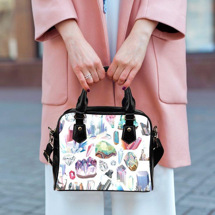 Handbag - Pastel Crystals