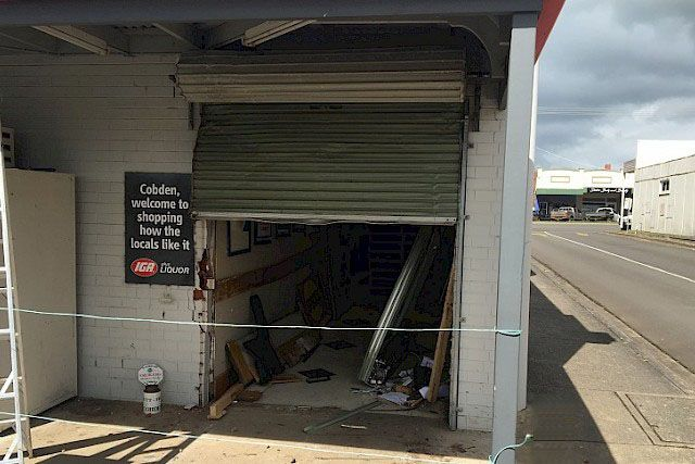 One individual is suspected to be responsible for two ram raids and a burglary south-west of Melbourne after a stolen ute caught on CCTV footage was later found burnt out.  The use of high impact bollards would be a simple means of eliminating this issue, providing adequate security against vehicle borne thieves.   #australianbollards #ramraid #iga