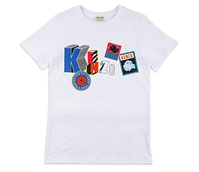 Keno Boys Tiger Sticker T-Shirt