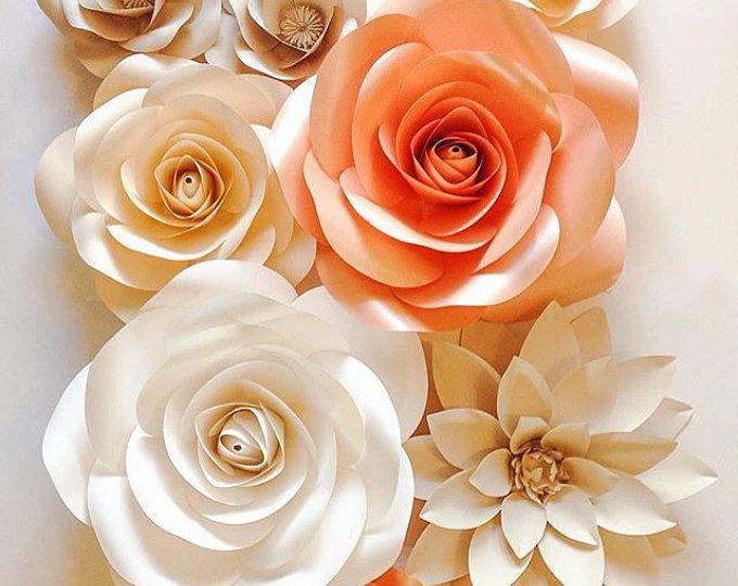 Oltre 25 fantastiche idee su fiori di carta giganti su for Fiori con la p