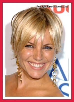 short haircuts for women over 40 | Short hairstyles for round faces women over 40 3