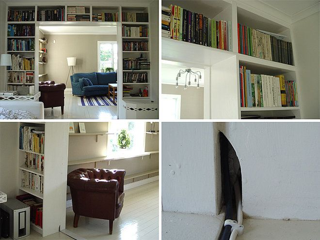 Inbyggd IKEA Billy bokhylla. Tips & Inspiration 7 - Inbyggda bokhyllor - Bygga & Renovera - Hemmet iFokus