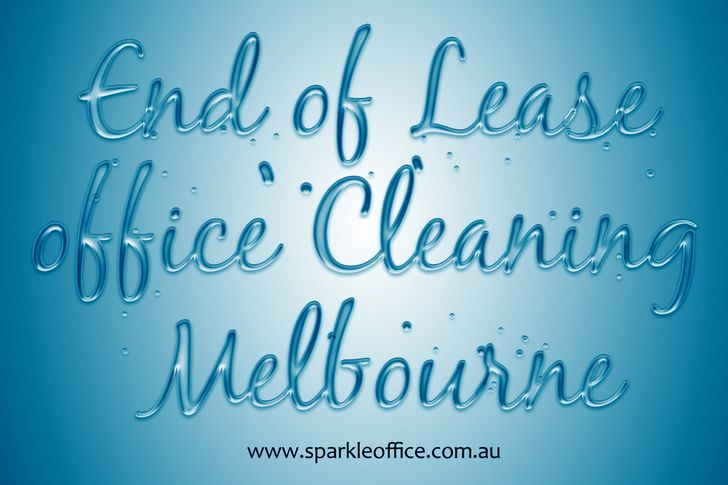 end of lease office cleaning melbourne