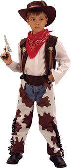 Cowboy Dress Up for kids: Vest Chaps Bandana Hat...