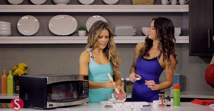 The Tone It Up Girls—basically our social media fitness BFFs—are back with another recipe: one-minute microwave cookie dough.
