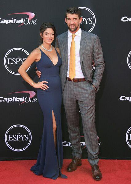 Nicole Johnson & Michael Phelps - Every Single Look from the 2017 ESPY Awards