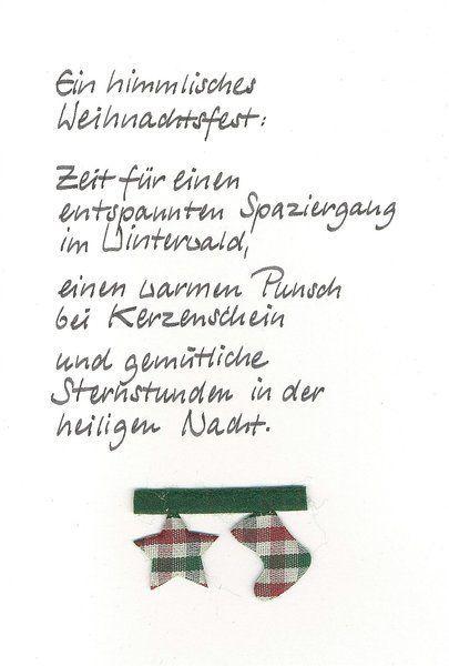 1000 ideas about weihnachtsgr e auf pinterest - Text weihnachtskarte privat ...