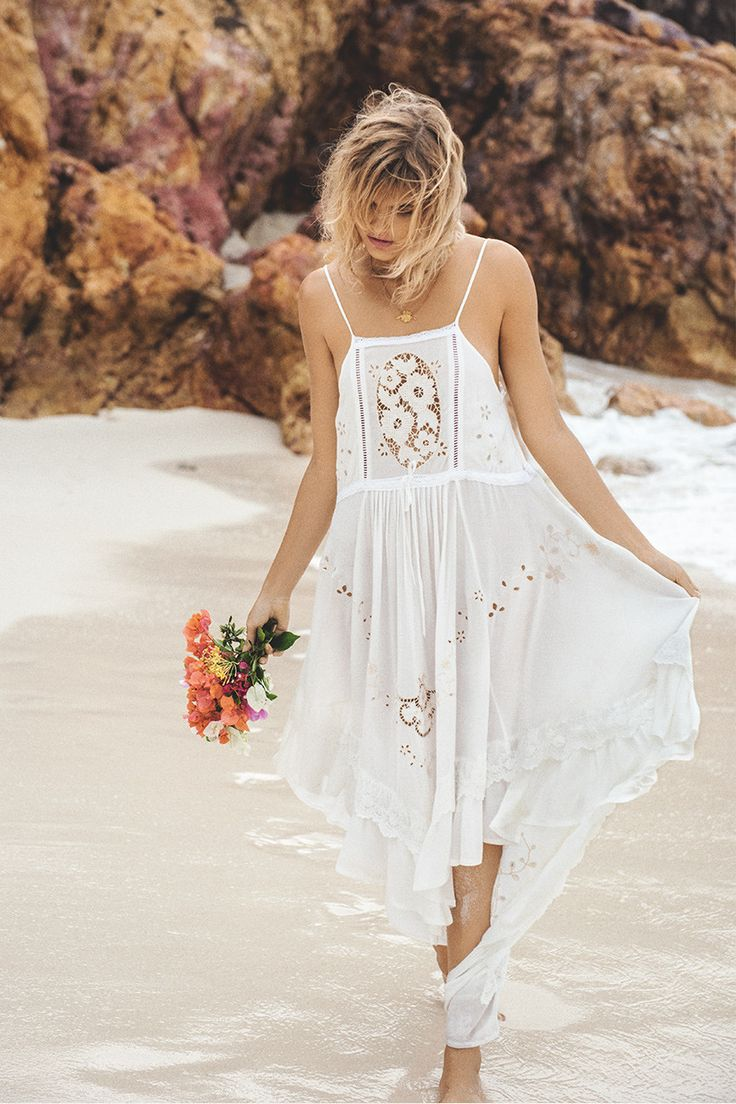 Spell & The Gypsy Collective - Spell Isla Bonita Embroidered Dress