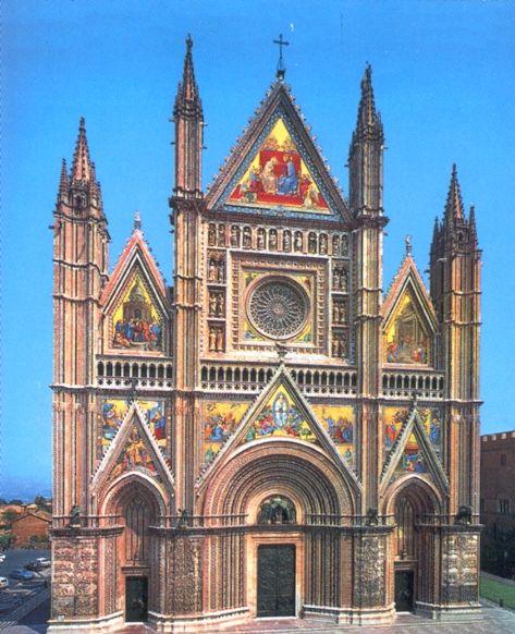 Catedral de orvieto en italia catedrales medievales for Arquitectura medieval