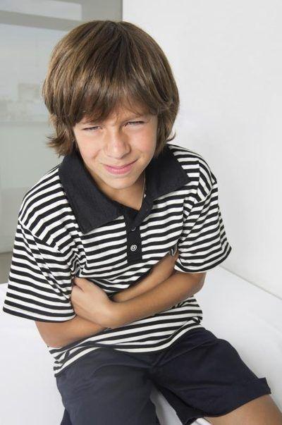 Low stomach acid test for kids.