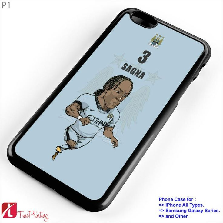 manchester city Bacary Sagna - Personalized iPhone 7 Case, iPhone 6/6S Plus, 5 5S SE, 7S Plus, Samsung Galaxy S5 S6 S7 S8 Case, and Other