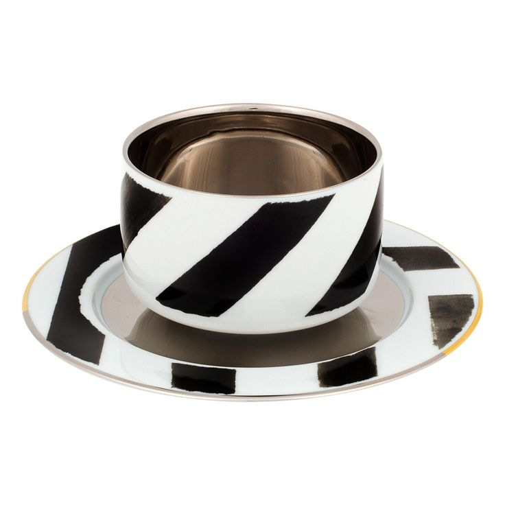 Sol Y Sombra Coffee Cup & Saucer from Christian Lacroix