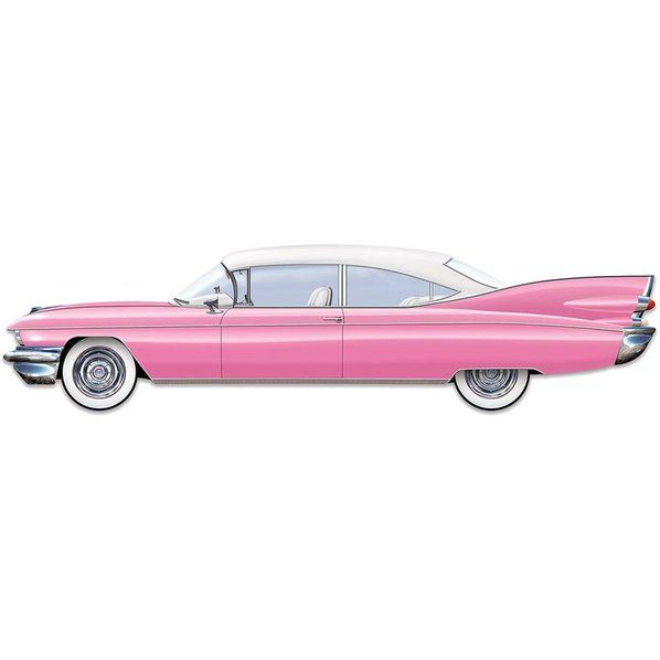 Check out 50's Jointed Pink Cruisin' Car 6ft. - Cheap Party Supplies from Wholesale Party Supplies