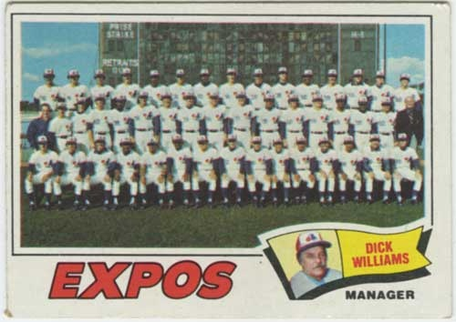 1977 dick williams a great manager and the team starts its ascent