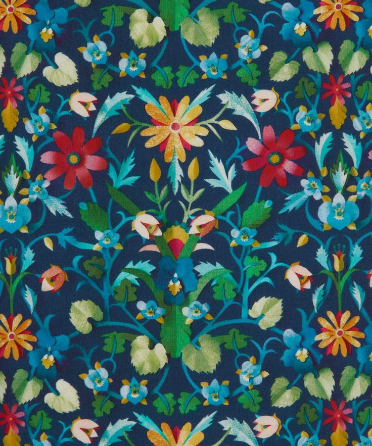 Liberty Art Fabrics Windrush D Tana Lawn Cotton | Fabrics | Liberty.co.uk