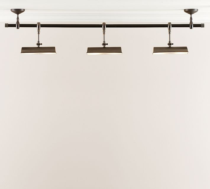 Museum Mount Spotlight Track Lighting - Pottery Barn