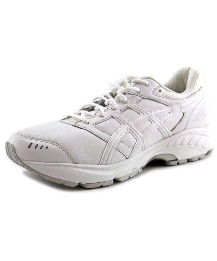 ASICS ASICS GEL-FOUNDATION WALKER 3 MEN  ROUND TOE LEATHER WHITE WALKING SHOE'. #asics #shoes #sneakers