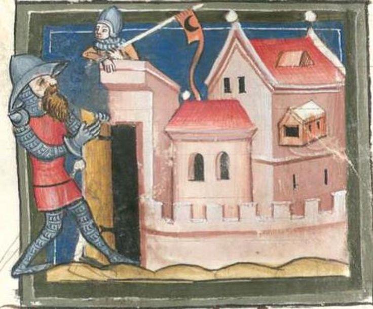 BSB Cgm 5 Weltchronik in Versen, Germany, Regensburg, 1370