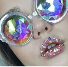 ♡ pinterest : jessi283 ♡ Get out of this world with these sunnies: http://www.dollskill.com/glofx-crown-blue-kaleidoscope-glasses.html