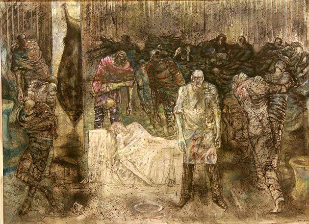 Maleri (paintings) of Håkon Bleken
