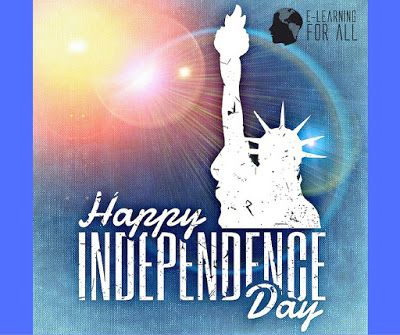 """E-Learning For All: Dia da Independência dos Estados Unidos - """"The 4th of July"""" Aprenda inglês e a cultura do país de onde se fala o idioma."""