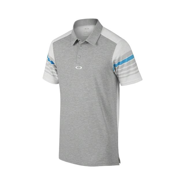 Shop Oakley Wyatt Golf Polo in HEATHER GRAY at the official Oakley online  store.
