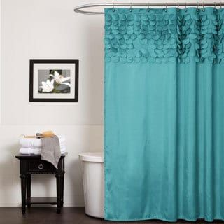 Shop For Lush Decor Lillian Turquoise Shower Curtain Free Shipping On Orders Over 45 At
