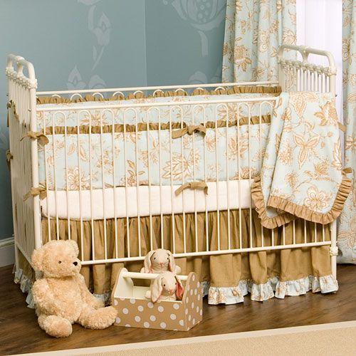Vintage Iron Crib