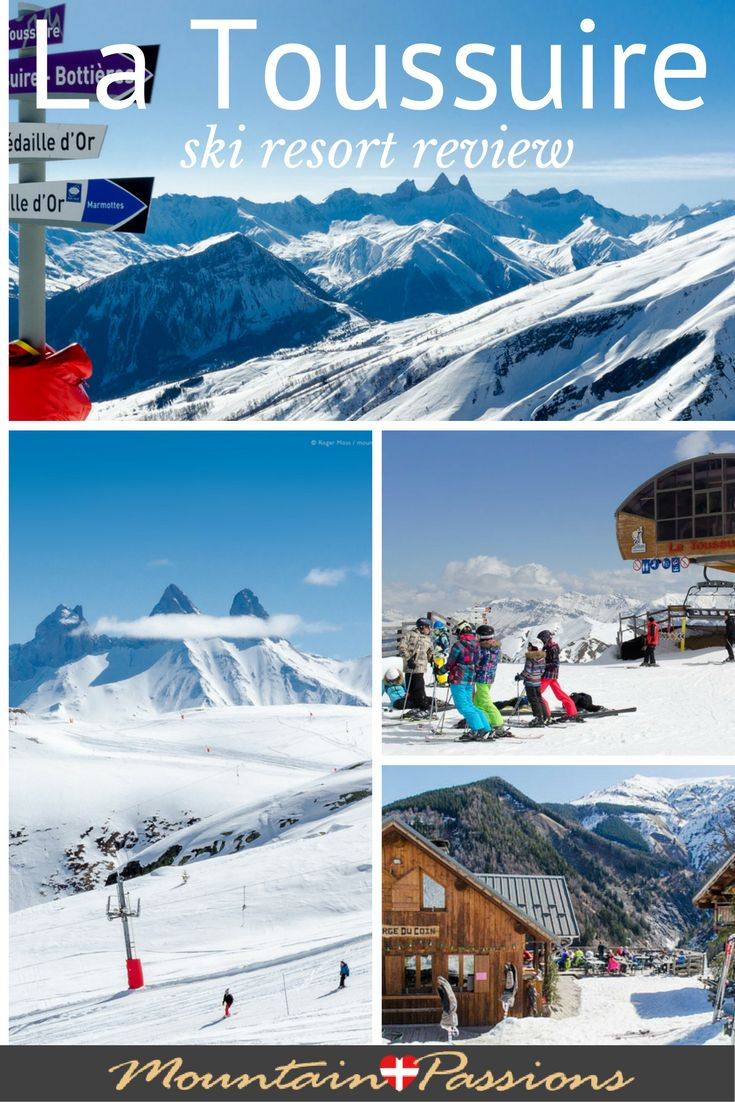 Superb scenery and one of the friendliest ski resorts we've stayed in, La Toussuire is part of the Les Sybelles ski domain in the French Alps. See our independent review http://www.mountainpassions.com/winter/ski-resort-reviews/ski-la-toussuire/