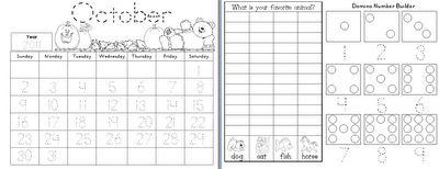 Calendar math for kinder
