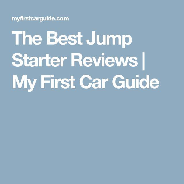 The Best Jump Starter Reviews | My First Car Guide