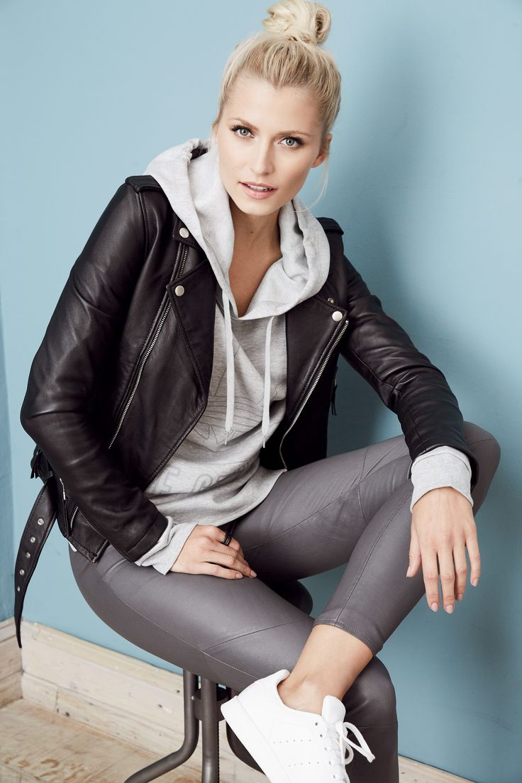 COOL AND CASUAL @aboutyoude Idol Lena Gercke.