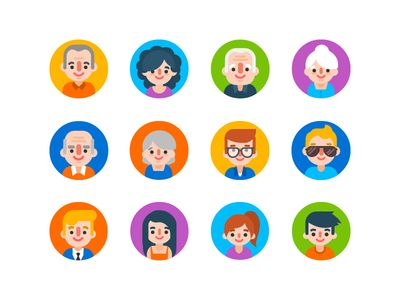 i just dream of a cool team page where we're all graphic versions of ourselves... then because it's vector, it's easy to use the different shapes and parts to add a new team member as they grow. they'd also be cool for avatars if we ever have a Nascent blog...