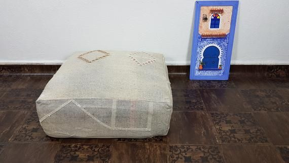 Stuffed Floor Pillow Large Floor Cushions Moroccan Rug Floor Pillows Cactus Silk Floor Cushion Sq With Images Large Floor Cushions Square Pouf Floor Rugs