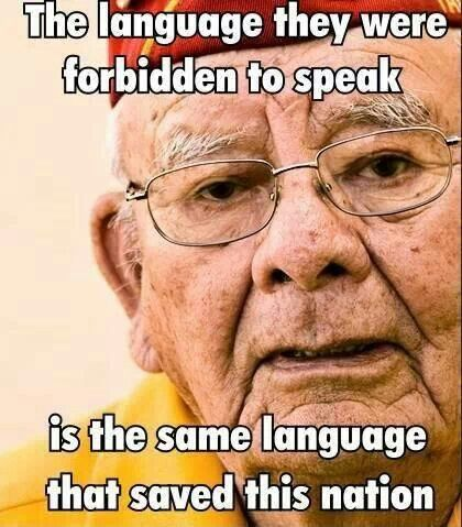 A study in WWII - Navajo Code Talkers