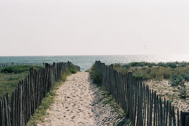 La Baule - Pornichet: accès à la plage de Bonne source par la dune