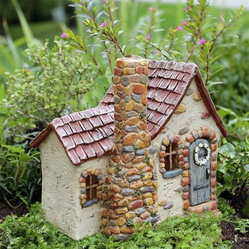 Laurelwood Fairy House For Fairy Gardens