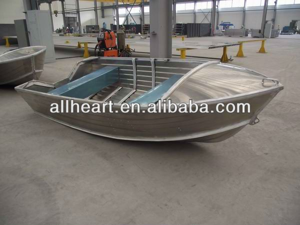 Small 12ft aluminum boat with console buy small 12ft for Small aluminum fishing boats