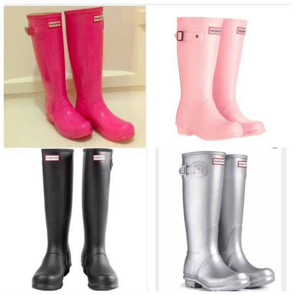NOT FOR SALE looking for cheap hunter boots Looking for cheap hunter boots in any of these colors from size 8.5-9 in great condition and can be shipped to Cleveland Ohio by Valentine's Day ! Leave comments  Hunter Boots Shoes Winter & Rain Boots