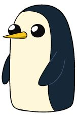 I love this penguin. Gunter <3 #makesmehappy