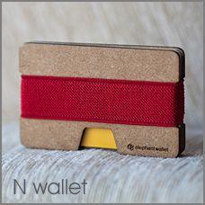 Elephant Wallet - ultra slim minimalist wallet