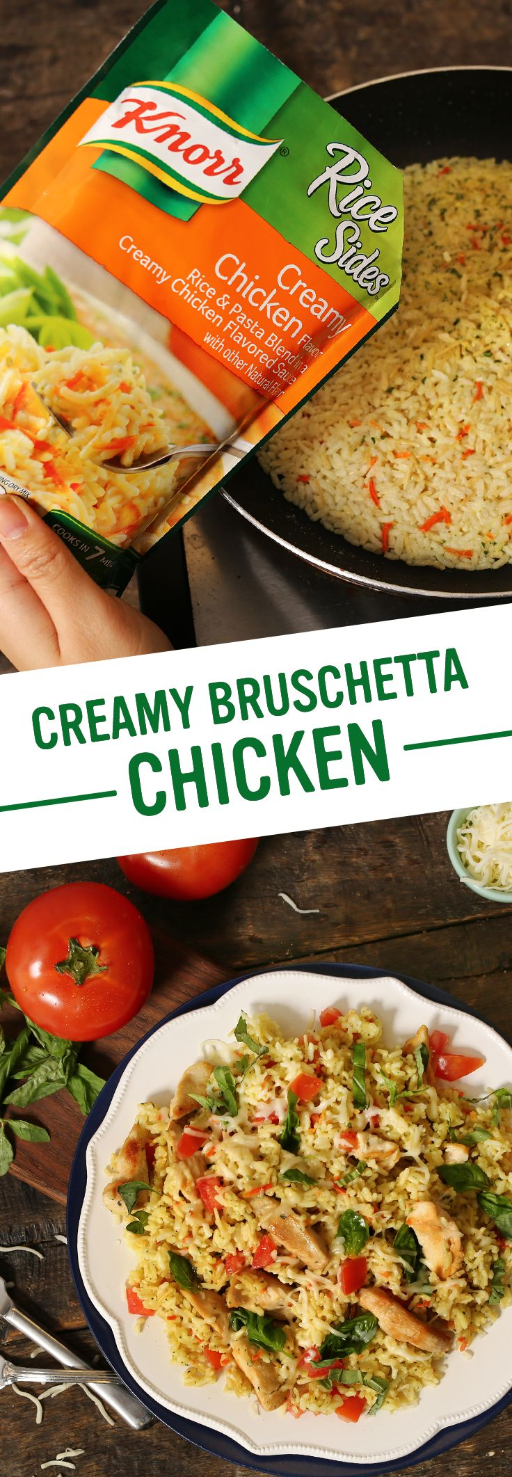 172 best weeknight dinner recipes images on pinterest cooking looking for a quick and easy dinner recipe your family will love knorrs creamy bruschetta forumfinder Choice Image