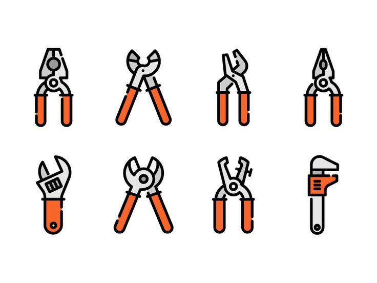 Construction tools by Sergey Ershov #Design Popular #Dribbble #shots