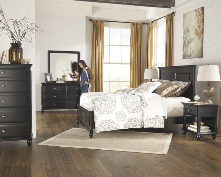 Black Master Bedroom  Black Bedrooms  Queen Bedroom  Bedroom Sets  Dream  Bedroom  Master Bedrooms  Queen Beds  Master Suite  Dresser Mirror. 26 best Ashley Furniture Bedroom images on Pinterest