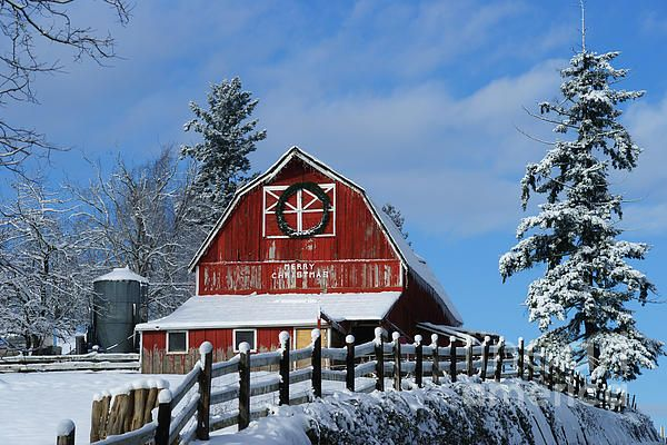 This beautiful old red barn just on McMillan in Abbotsford, B.C, was photographed just after a snowfall that only lasted for a few hors before it melted away. This is one of my favorite images. www.rharrisphotos.com